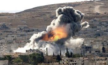 U.S. Bombing in Syria