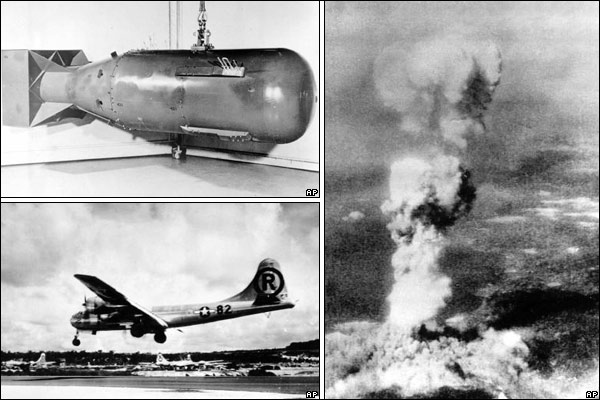 Nuclear bombs, Hiroshima, Nagasaki, 200,000 people killed — George Weller, William Blum The WE News Archives