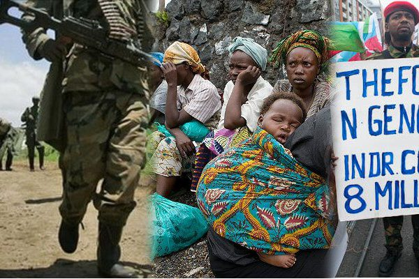 Since the 1998 invasion of the Congo 5.4 million congolese have perished so the west could access their country's mineral wealth.