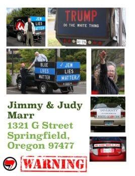 Neo-nazi Jimmy Marr
