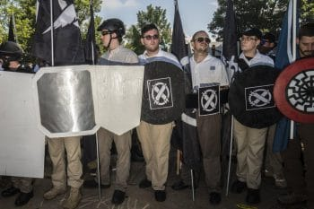 Fascist torch march in Charlottesville, August 11 2017