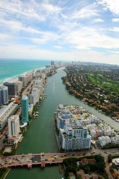 Aerial photo of Miami