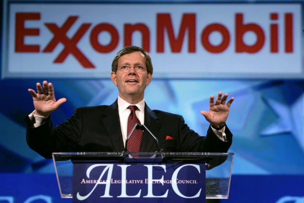   American Legislative Exchange Council ALEC meeting   MR Online