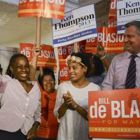 Chirlane McCray and Bill de Blasio