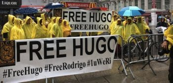 Free Hugo rally IUPAT District Council 9 - International Union of Painters and Allied Trades