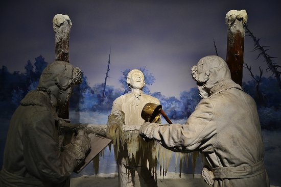 Frostbite experiment on prisoner