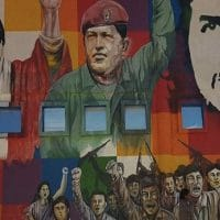 Mural commemorating the Bolivian Revolution
