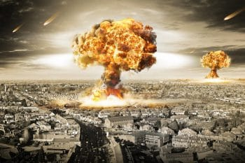Nuclear war Picture Alamy