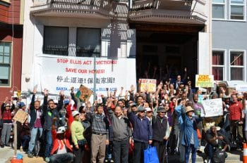 San Francisco Ellis Act Protest