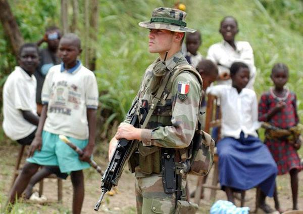French soldiers in the Central African Republic. Photo: http://www.hispantv.com