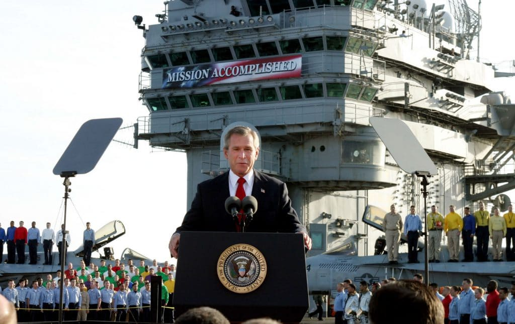 Western ideologues were buoyed by the U.S. war on Iraq