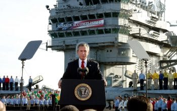 Western ideologues were buoyed by the US war on Iraq