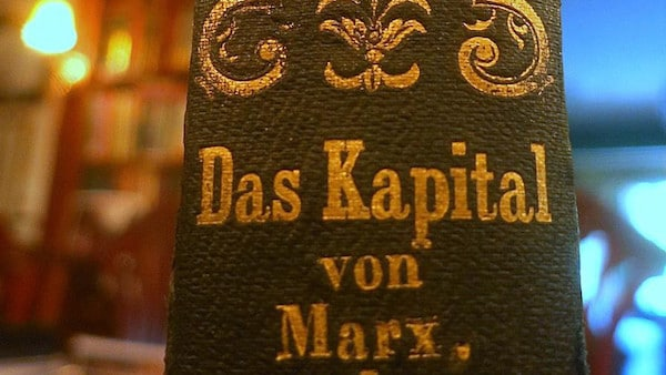 "The $40,000 copy of ""Das Kapital."" (AbeBooks)"