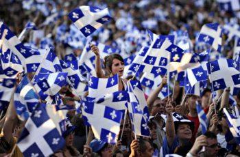 Québécois demonstration for independence
