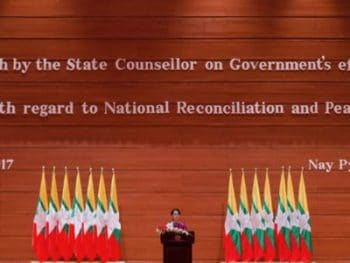 | Aung San Suu Kyi talking about her plans to resolve the question of the Rohingyas September 19 2017 | MR Online