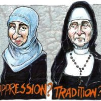 Burqas and nuns