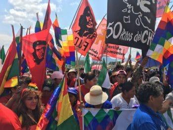 Che didn't invade Columbia/ Photo credit: Resumen Latinoamericano