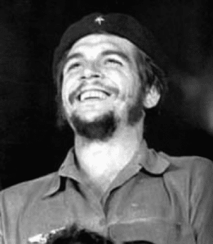Che smiling