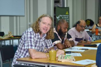 Richard York at the School of Ecology Mauritius 2017