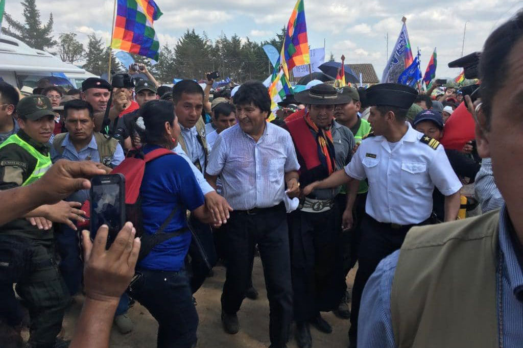 | Evo Morales in a parade to celebrate the life of Che Guevara | MR Online