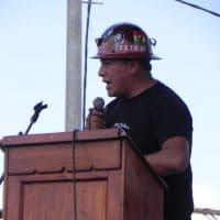 Hard hat speech.
