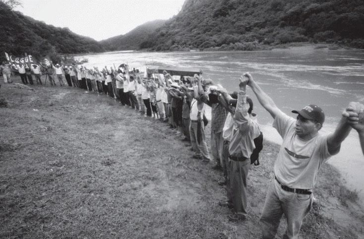 LENCA protesters.