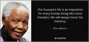 Nelson Mandela on Che Guevara