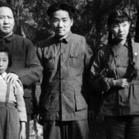 Chairman Mao Tse-tung and his family