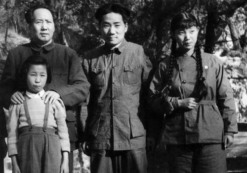 Chairman Mao Tse-tung and his family
