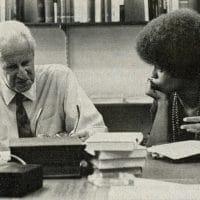| Photo Herbert Marcuse and Angela Davis 1968 | MR Online