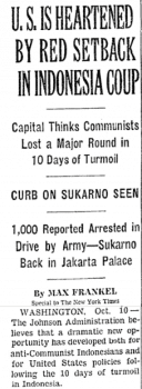 The New York Times' most cheerleading coverage of the Indonesian genocide.
