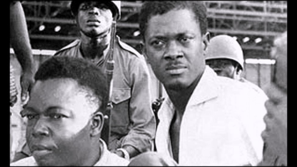 Patrice Lumumba just before his murder by the CIA