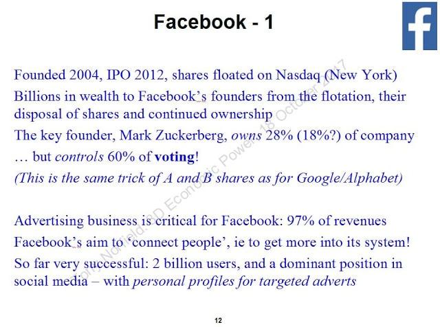 Facebook. (Tony Norfield)