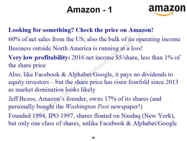 Amazon. (Tony Norfield)