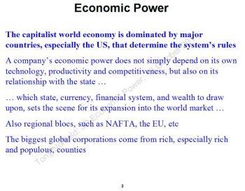 Economic Power. (Tony Norfield)