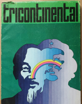 Lenin Tricontinental poster