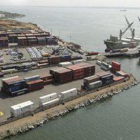 Port in the city of Maracaibo, Venezuela