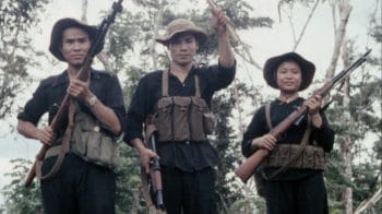 National Front for the Liberation of South Vietnam (NLF) soldiers