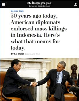 Washington Post headline (12/2/15) frames US involvement.