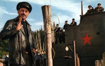 "Alan Arkin in the Norman Jewison film, ""The Russians are Coming, The Russians are Coming"""