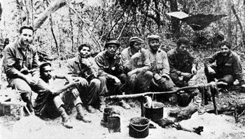 Guerrillas in Bolivia. Photo: Cubadebate