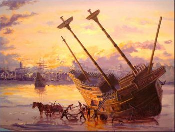 End of the Mayflower. Photo: MayflowerHistory.com