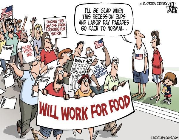 Economy rains down Rose Parade (photo: capoliticalreview.com)