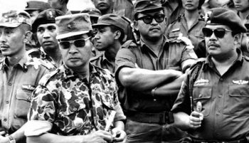 General Suharto in the days after the September 30th Movement