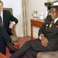 Blair, Mugabe, 1997