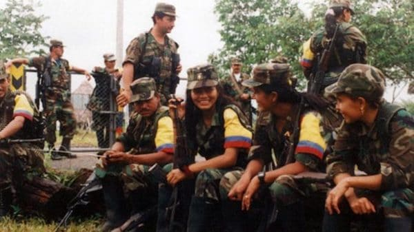 Women in the FARC make up an estimated 45 percent of the guerrilla force. Source: Flickr / Silvia Andrea Moreno