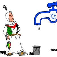Carlos Latuff (2016): Israel denies water to Palestine West Bank
