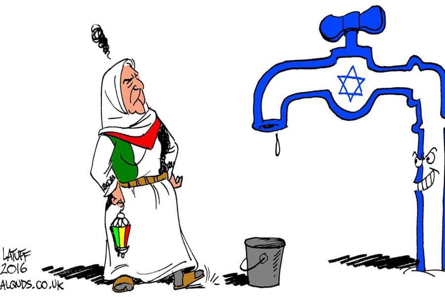 | Carlos Latuff 2016 Israel denies water to Palestine West Bank | MR Online