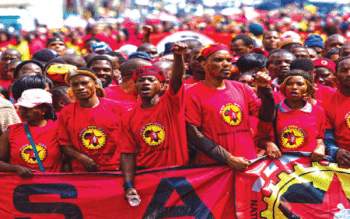 [Archive photo] The National Union of Metalworkers of South Africa (NUMSA) Picture: Reuters