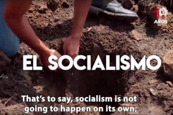 Socialism is not going to happen on its own